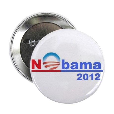 "No Obama ""Nobama"" 2012 - 2.25"" Butt"