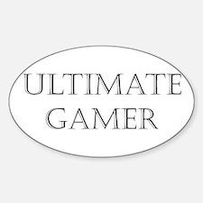 Ultimate Gamer Sticker (Oval)