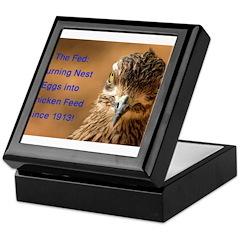Chicken Feed Keepsake Box