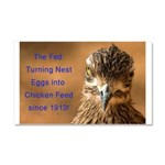 Chicken Feed Car Magnet 20 x 12