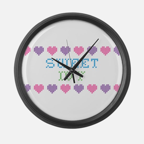 Sweet IVY Large Wall Clock