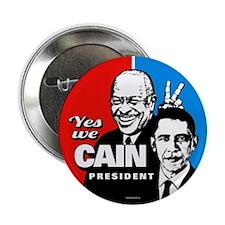 "Cain - Bunny Ears 2.25"" Button (10 pack)"