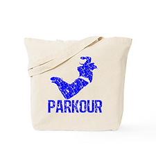 Vintage, Parkour Tote Bag