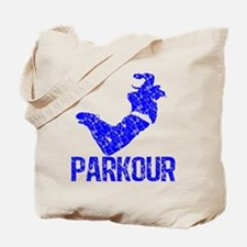 Vintage, Parkour Tote Bag