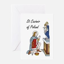 St. Casimir Greeting Cards (Pk of 10)