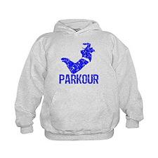 Vintage, Parkour Hoodie