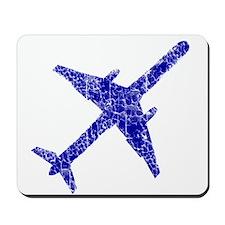 Old, Worn Jet Plane Mousepad