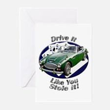 Austin Healey 3000 Greeting Cards (Pk of 20)