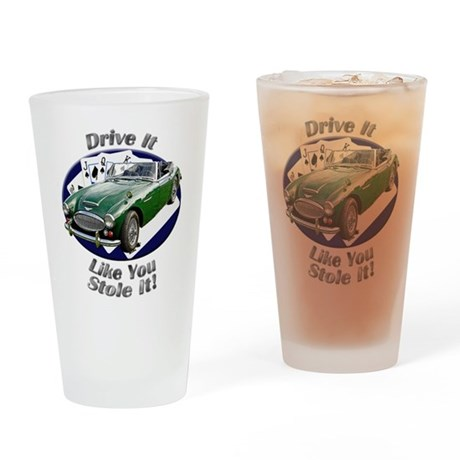 Austin Healey 3000 Drinking Glass