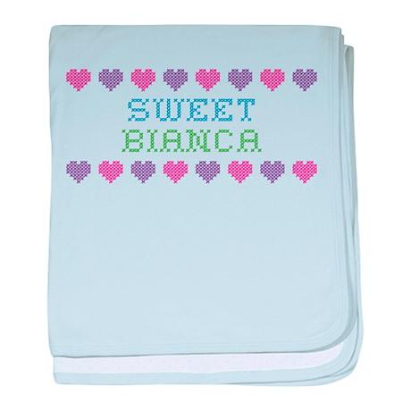 Sweet BIANCA baby blanket