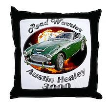 Austin Healey 3000 Throw Pillow