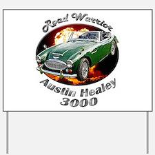 Austin Healey 3000 Yard Sign
