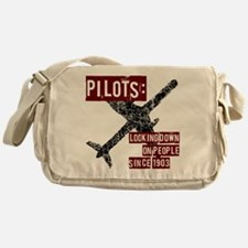 Pilots, Funny Messenger Bag