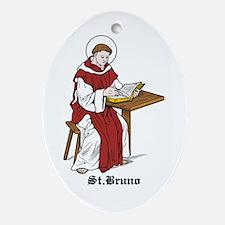 St. Bruno Oval Ornament