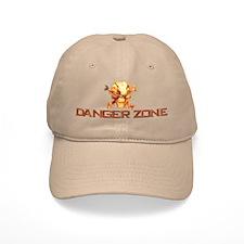 Red DZ Smiling Skull Hat