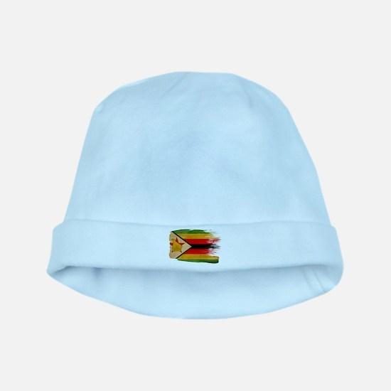 Zimbabwe Flag baby hat