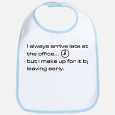 'Late At The Office' Bib