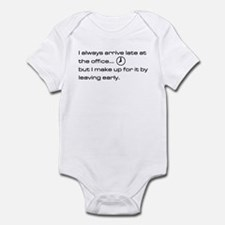 'Late At The Office' Infant Bodysuit