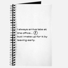 'Late At The Office' Journal