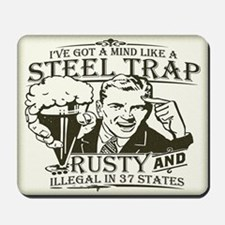 Steel Trap Mousepad