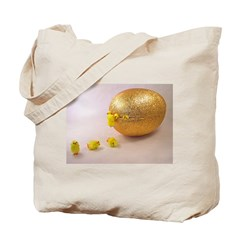 Easter egg hatchlings Tote Bag