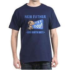Funny Personalized New Father T-Shirt