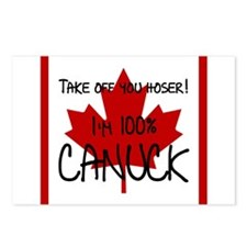 100 percent canuck Postcards (Package of 8)
