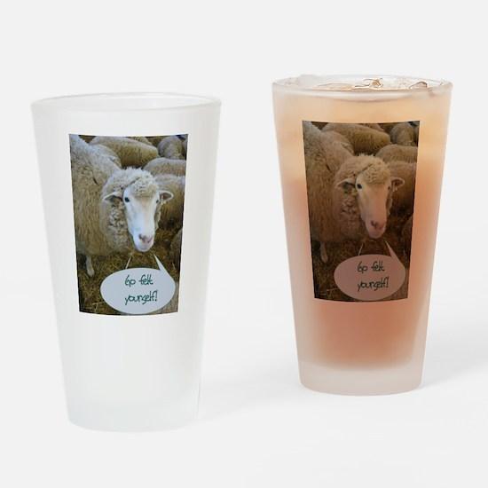 Go Felt Yourself Drinking Glass