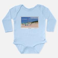 All A Board Long Sleeve Infant Bodysuit