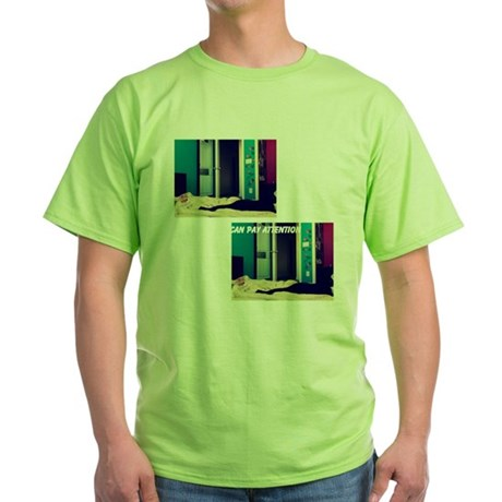 cats Green T-Shirt