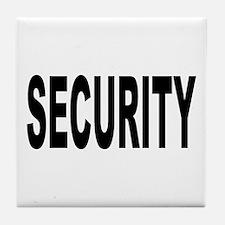 Security Tile Coaster