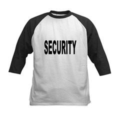 Security Kids Baseball Jersey