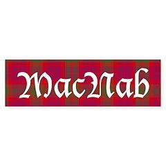 Tartan - MacNab Bumper Sticker