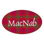 Tartan - MacNab Sticker (Oval 50 pk)