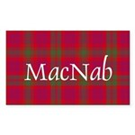Tartan - MacNab Sticker (Rectangle 10 pk)