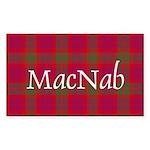 Tartan - MacNab Sticker (Rectangle 50 pk)
