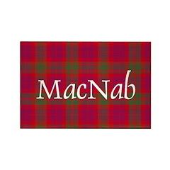 Tartan - MacNab Rectangle Magnet