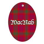 Tartan - MacNab Ornament (Oval)