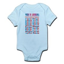Speak Our Language Onesie