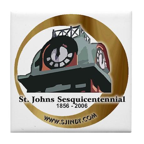 Indy Sesquicentennial Tile Coaster