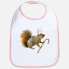 Reindeer Squirrel Bib