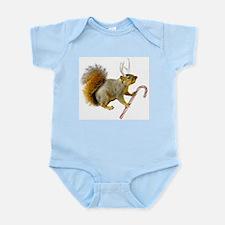 Reindeer Squirrel Infant Bodysuit