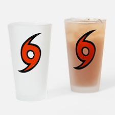 'Hurricane' Drinking Glass