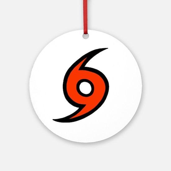 'Hurricane' Ornament (Round)