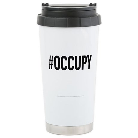 Occupy Stainless Steel Travel Mug