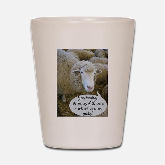 Funny Wool Shot Glass