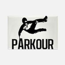 Parkour Leap Rectangle Magnet