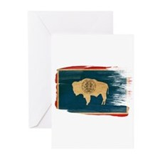 Wyoming Flag Greeting Cards (Pk of 10)