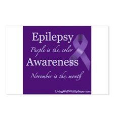 Epilepsy Awareness Postcards (Package of 8)