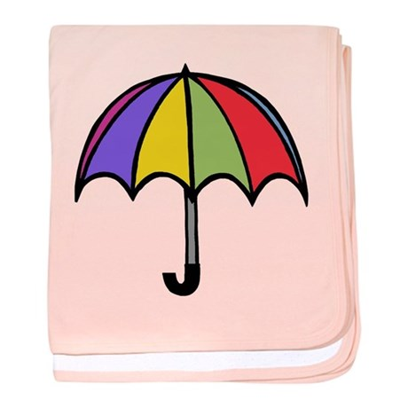 'Umbrella' baby blanket